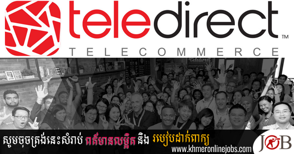 Customer Support– Cambodian Market for Teledirect Telecommerce